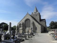 Chapelle Notre-Dame de Kernitron - Chevet de la chapelle ND de Kernitron en Lanmeur (29).