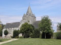 Chapelle Notre-Dame de Kernitron - Flanc meridional de la chapelle N.D de Kernitron en Lanmeur (29).