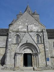Chapelle Notre-Dame de Kernitron - Façade méridionale du transept sud de la chapelle ND de Kernitron en Lanmeur (29).