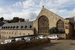 Ancienne abbaye des Jacobins -  Vue du couvent des Jacobins à Morlaix.