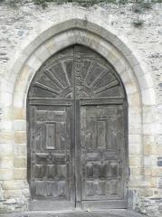 Ancienne abbaye des Jacobins - Portail occidental de l'église du couvent des Jacobins de Morlaix (29).