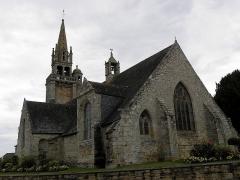 Eglise de Ploujean - Français:   Église Notre-Dame de Ploujean, commune de Morlaix (29). Chevet.