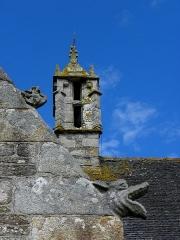 Eglise de Ploujean - Français:   Église Notre-Dame de Ploujean, commune de Morlaix (29). Clocheton de croisée.