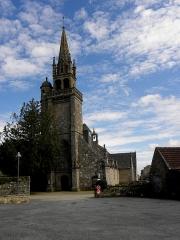 Eglise de Ploujean - Français:   Église Notre-Dame de Ploujean, commune de Morlaix (29). Façade occidentale.