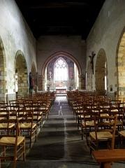 Eglise de Ploujean - Français:   Intérieur de l\'église Notre-Dame de Ploujean, commune de Morlaix (29). Nef.