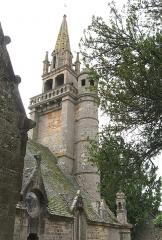 Eglise de Ploujean - Français:   Vue du nord. 15e et 16e s. CMH 1914.