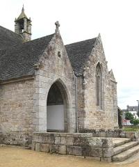 Eglise de Ploujean - Français:   Vue du sud. 15e s. CMH 1914.