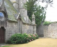 Eglise de Ploujean - Français:   Vue du nord. 15e s. CMH 1914.