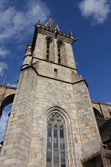 Eglise Saint-Mélaine -  Vue de l'église Saint-Mélaine à Morlaix.