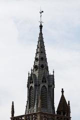 Eglise Saint-Mélaine -  Vue de l'église Saint-Mélaine à Morlaix
