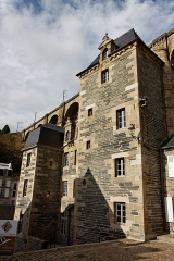 Hôtel dit de François du Parc -  Vue de l'Hôtel de François du Parc à Morlaix.