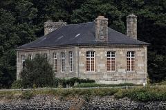Maison dite L'Ancien Magasin Cornic -  La maison Cornic sur les bords de la rivière de Morlaix