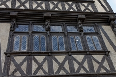 Maison dite de la Reine-Anne -  La maison de la duchesse Anne à Morlaix.
