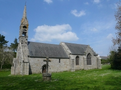Chapelle de la Madeleine - Français:   Vue générale de la chapelle de la Madeleine en Penmarc\'h, Finistère, Bretagne, France.