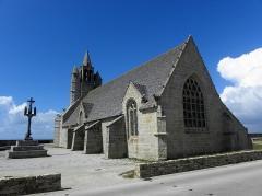 Chapelle de Notre-Dame-de-la-Joie - Français:   Chapelle Notre-Dame-de-la-Joie de Penmarc\'h (29). Chevet et flacn sud.