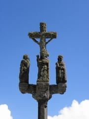 Chapelle de Notre-Dame-de-la-Joie - Français:   Chapelle Notre-Dame-de-la-Joie de Penmarc\'h (29). Calvaire.