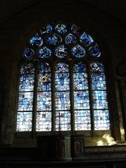 Chapelle de Notre-Dame-de-la-Joie - Vitrail N.D.-de-la-joie