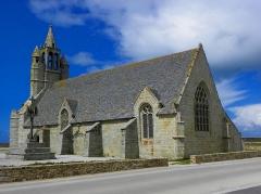 Chapelle de Notre-Dame-de-la-Joie - Français:   Chapelle Notre-Dame-de-la-Joie de Penmarc\'h (29). Chevet et flanc sud.