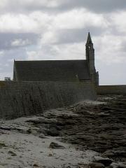 Chapelle de Notre-Dame-de-la-Joie - Français:   Chapelle Notre-Dame-de-la-Joie de Penmarc\'h (29). Vue septentrionale.