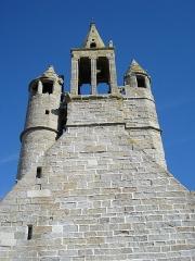 Chapelle de Notre-Dame-de-la-Joie - Français:   Façade N.D.-de-la-Joie