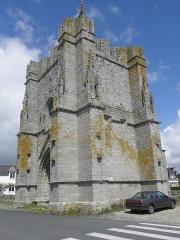 Ruines de la tour de Saint-Guénolé - Français:   Tour Saint-Guénolé, commune de Penmarch (29).