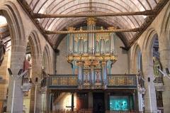 Eglise Saint-Germain, calvaire et ossuaire - Enclos paroissial de Pleyben