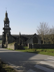 Chapelle Sainte-Marie - Vue méridionale de la chapelle Sainte-Marie-du-Ménez-Hom en Plomordien (29).