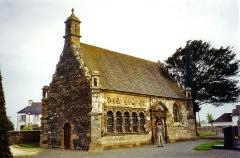 Eglise Saint-Pierre -  Ossarium of Ploudiry, Bretagne, France