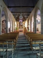 Eglise Saint-Etienne - Français:   Intérieur de l\'église Saint-Étienne de Plouezoc\'h (29).