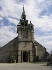 Eglise Saint-Etienne - Français:   Extérieur de l\'église Saint-Étienne de Plouezoc\'h (29). Façade occidentale.
