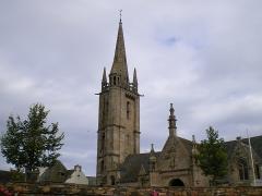 Eglise Saint-Pierre et croix dite du Bourg -  Église de Plougasnou