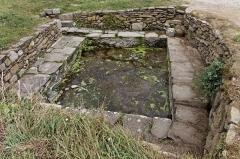Ruines de l'abbaye Saint-Mathieu -  L'abbaye Saint-Mathieu de Fine-Terre Un bassin.