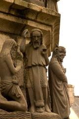 Eglise Saint-Yves - Enclos paroissial de Plougonven (Classé)