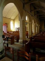 Eglise Saint-Demet - Français:   Église Saint-Démet de Plozévet (29). Collatéral nord.