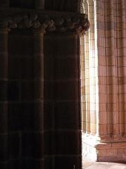 Eglise Notre-Dame de Roscudon - Français:   Piles des collatéraux nord du chœur de la collégiale Notre-Dame-de-Roscudon à Pont-Croix (29).