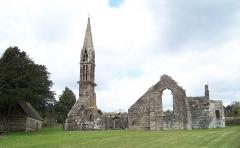 Eglise Saint-Pierre de Quimerch - Français:   Ruines de l\'église Saint-Pierre, Quimerch, Pays Rouzig, Bretagne