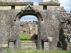 Eglise Saint-Pierre de Quimerch - Brezhoneg: Porte sud de l'église Saint-Pierre, Quimerch, Pays Rouzig, Bretagne.