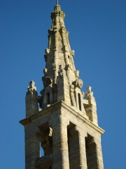 Eglise Saint-Paban de Lababan - English: Église Saint-Paban de Lababan, flèche