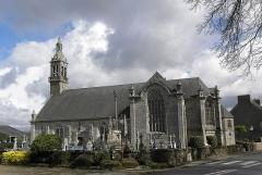 Chapelle Notre-Dame de Kergoat - Français:   Flanc sud de la chapelle Notre-Dame de Kergoat en Quéménéven (29).