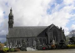 Chapelle Notre-Dame de Kergoat - Français:   Vue méridionale de la chapelle Notre-Dame de Kergoat en Quéménéven (29).