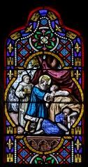 Cathédrale Saint-Corentin -  Détail des vitraux de la cathédrale Saint-Corentin de Quimper.