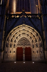Cathédrale Saint-Corentin -  La cathédrale Saint-Corentin à Quimper dans le Finistère.