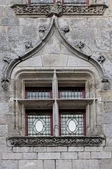 Ancien évêché, actuellement musée départemental breton -  Une fenêtre de l'ancien évêché de Quimper.