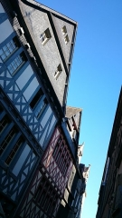 Maison dite des Cariatides -  Quimper - Maison des Cariatides - 4 rue du Guéodet.