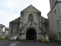 Ancien prieuré de Locmaria, ancienne caserne Emeriau - Français:   Église de Locmaria, Quimper (29). Façade occidentale.