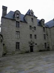 Ancien prieuré de Locmaria, ancienne caserne Emeriau - Français:   Prieuré de Locmaria, Quimper (29).