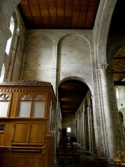 Ancien prieuré de Locmaria, ancienne caserne Emeriau - Français:   Église de Locmaria, Quimper (29). Mur ouest du croisillon sud.