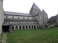 Ancien prieuré de Locmaria, ancienne caserne Emeriau - Français:   Église de Locmaria, Quimper (29). Façade sud.