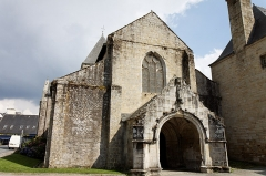 Ancien prieuré de Locmaria, ancienne caserne Emeriau - Français:   Eglise de Locmaria à Quimper.