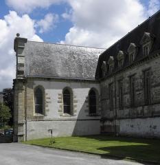 Ancien couvent des Ursulines - Français:   Nef et chœur des religieuses de la chapelle du couvent des Ursulines de Quimperlé (29).